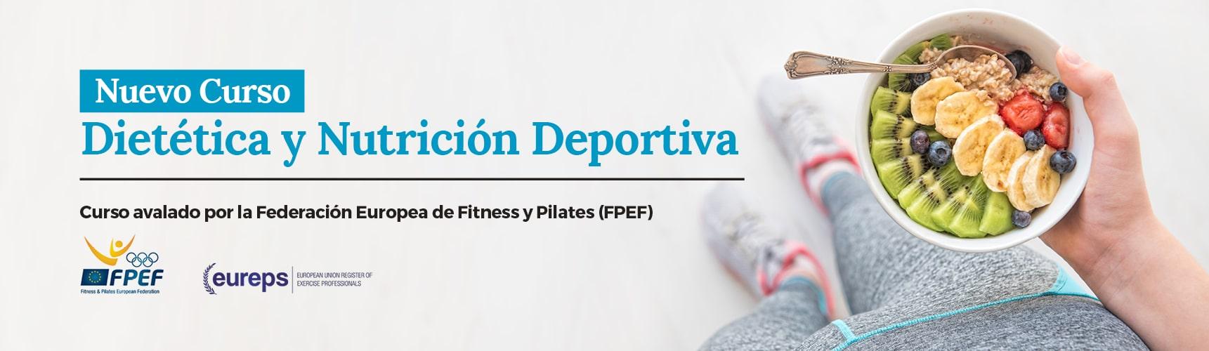 Curso de Dietética y Nutrición Deportiva