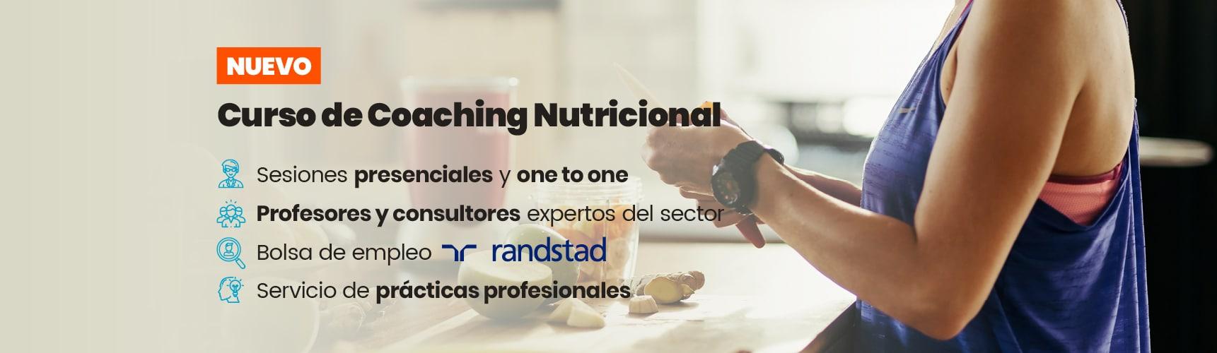 ¡Nuevo curso de Coaching Nutricional!