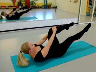 Tabla de Pilates para mejorar los dolores de espalda