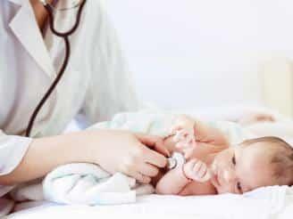 control de un niño sano