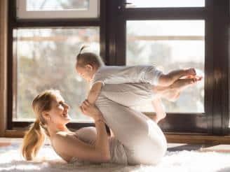 Qué es y cómo hacer una clase de Baby Pilates