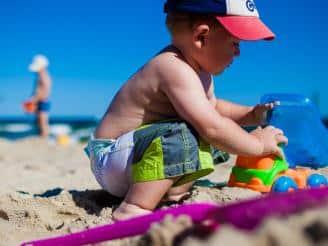 Consejos de pediatría: protección solar para los más pequeños
