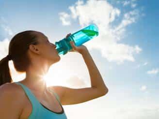 Hidratarse correctamente en deporte
