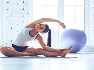 Estabilización de la pelvis en Pilates