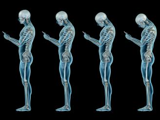 Síndrome del cuello roto, como influye el uso del móvil en la columna