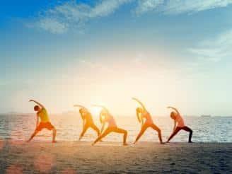 La habilidad de vivir el presente a través del yoga
