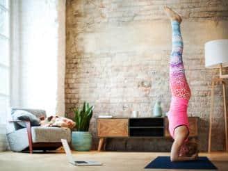 Yoga posturas invertidas