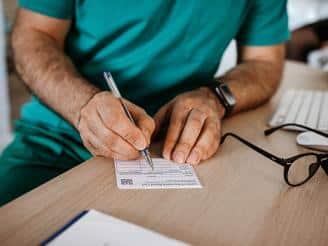 certificado médico para el trabajo?